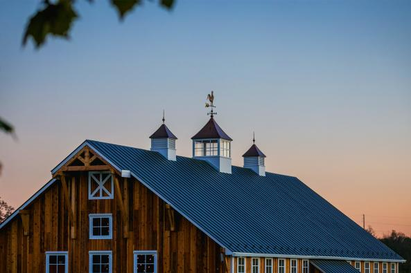 Sunset Barn