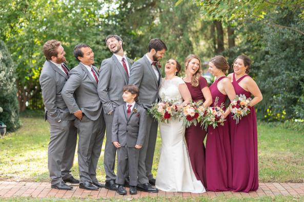Gorgeous Bridal Party