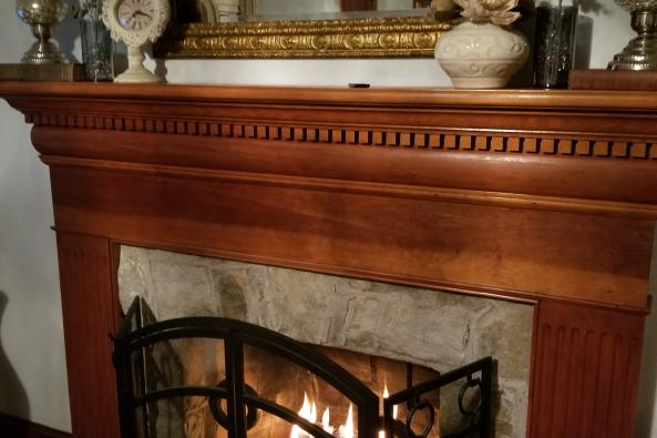 Ashby Suite fireplace