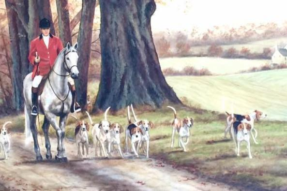 Hounds and hunting image