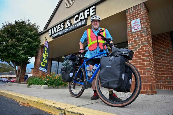 Maverick Cafe Biker
