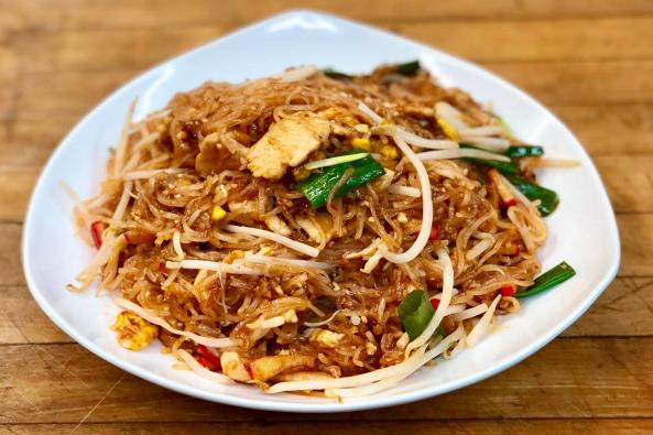 Aiyara Pad Thai Noodles. Must Try!!!!! Most Popular Noodles Dish.