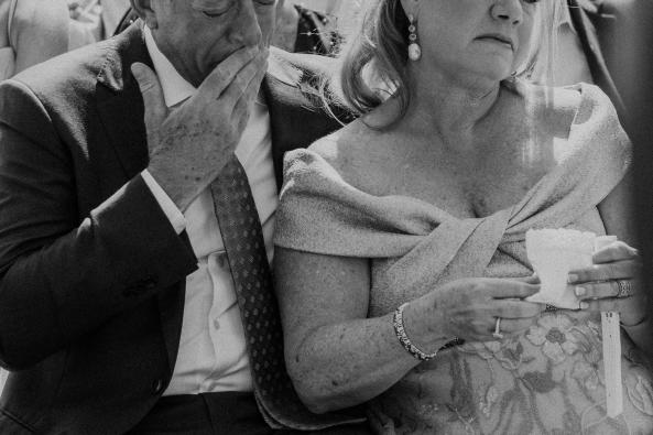 A groom's parents