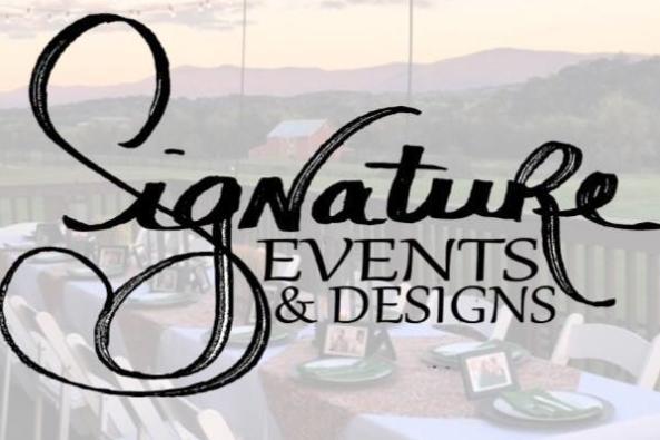 signature events and design