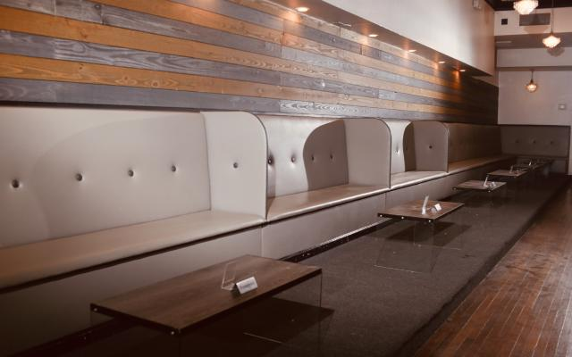 Booth Seating Area for Patrons