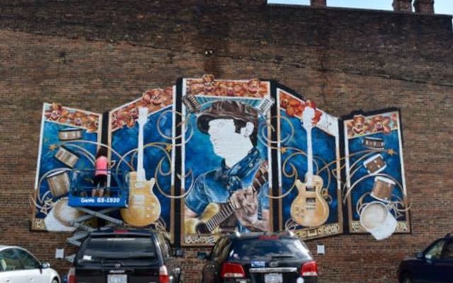 musical mural