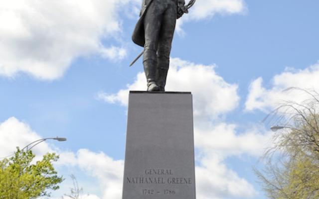 Nat Greene Statue