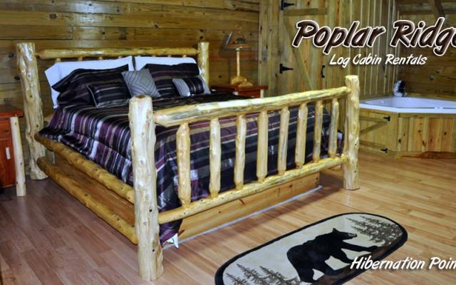 Romantic Gatlinburg Cabin Hibernation Point