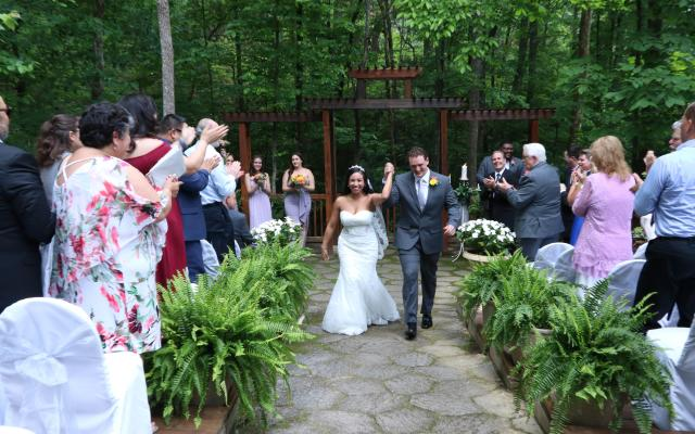 An Outdoor Wedding at the Park