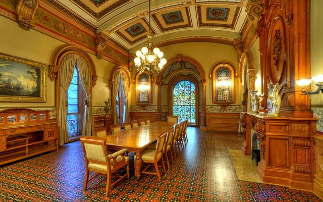 Hay House dining room
