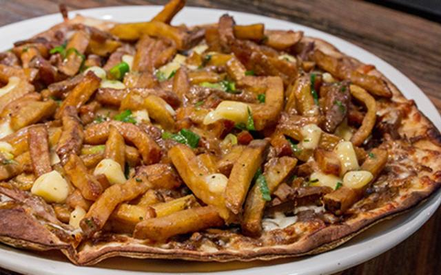 Duck Poutine Pizza