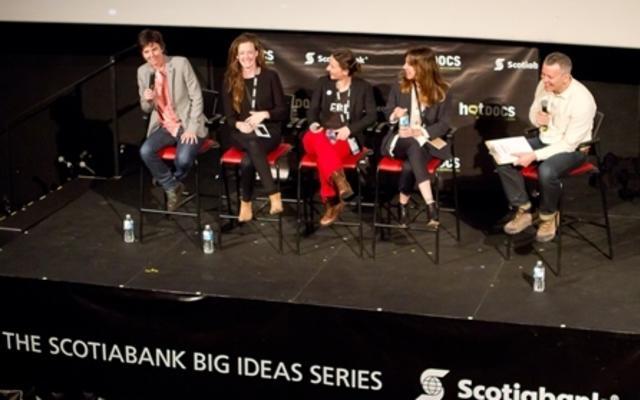 Scotiabank Big Ideas screening of TIG. Photo by Christian Peña