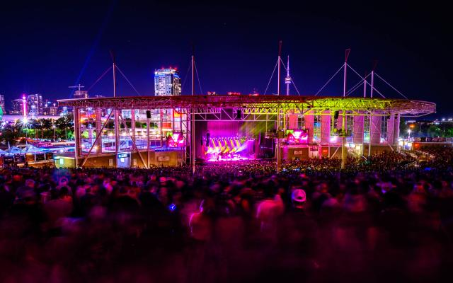 Budweiser Stage City View