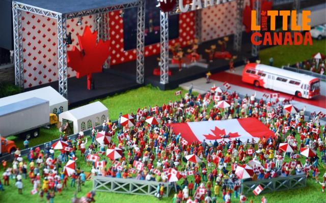 Canada Day in Little Canada