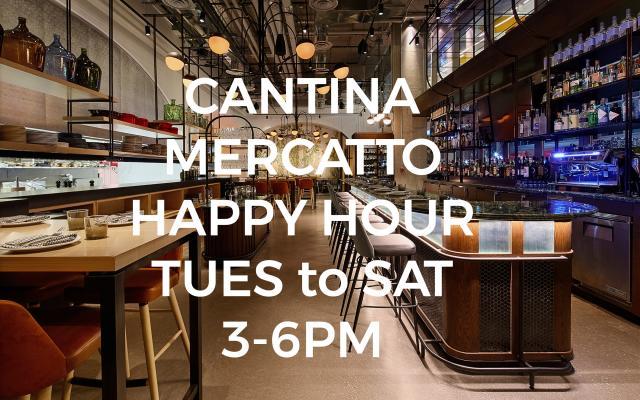 Cantina has Happy Hour!