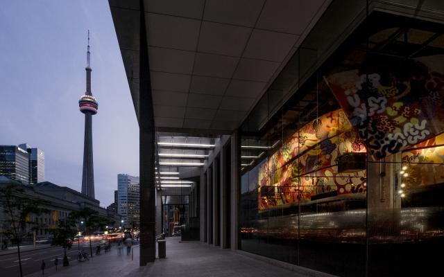 Exterior Shot of Chotto Matte Toronto