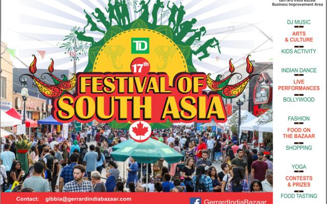 17th TD Festival of South Asia 2019