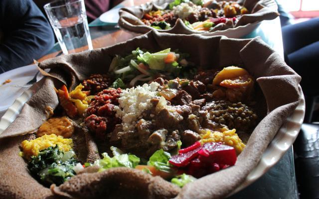 Amazing Ethiopian Feast