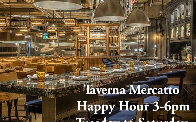 Taverna has Happy Hour!