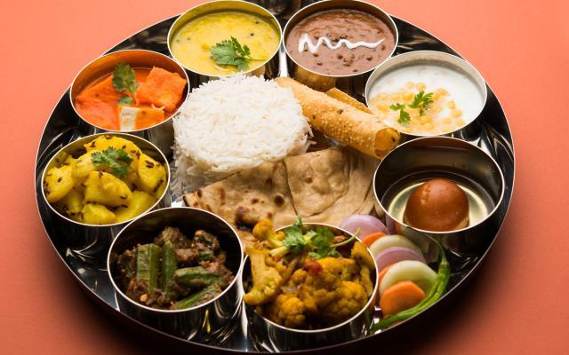 Vegetarian-Thali