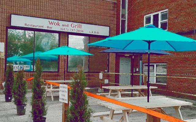 Summer Patio - Wok and Grill