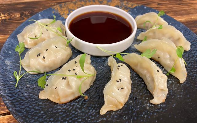 Crispy Gyoza Dumplings