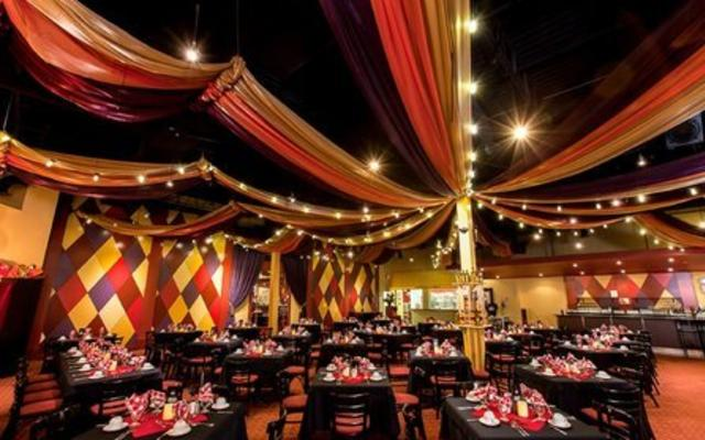 Moulin Rouge Style Dining Room