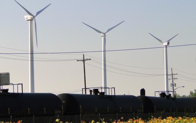 City Bus Wind Turbines