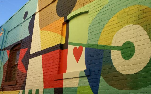 Delight of Accomplishment Mural