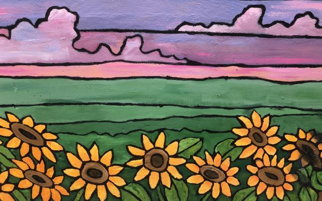 Nature Views Mural