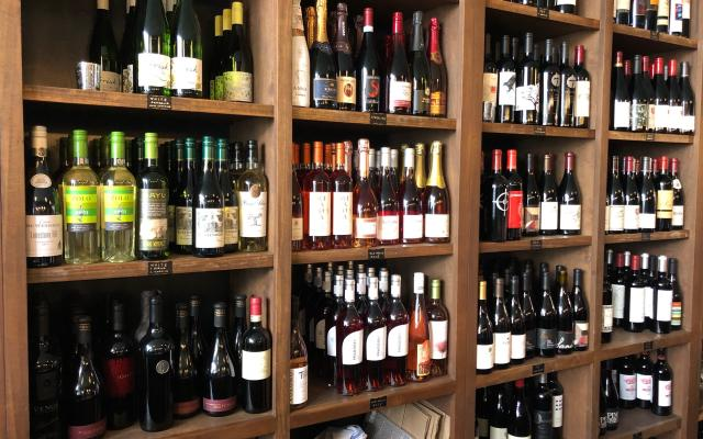 Cellar Wine Bistro Wine Wall