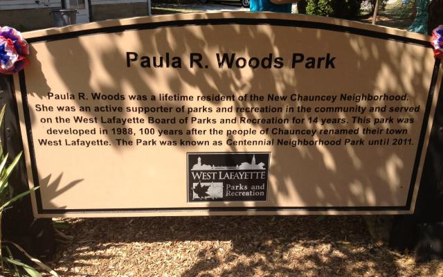 Paula R. Woods Park