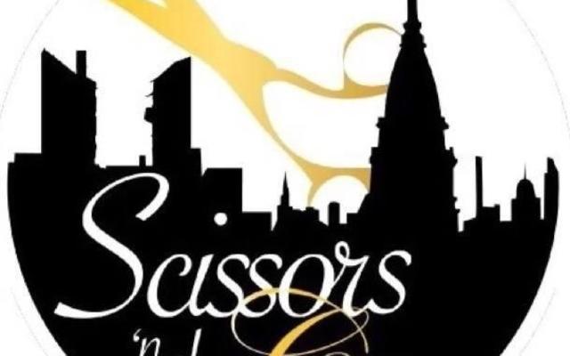 Scissors 'n the City Logo