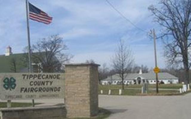 Tippecanoe County Fairgrounds Entrance