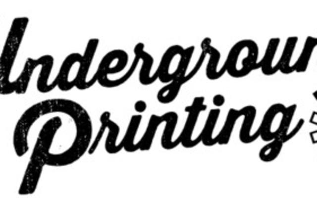 Underground Printing Logo
