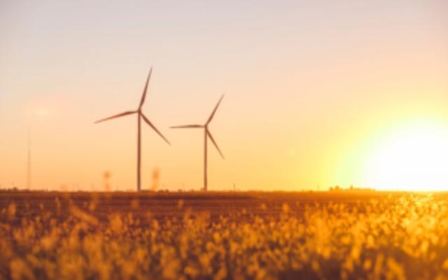 Wind Farm Sunset