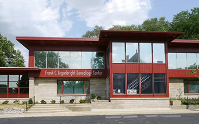 Frank C. Arganbright Geneology Center