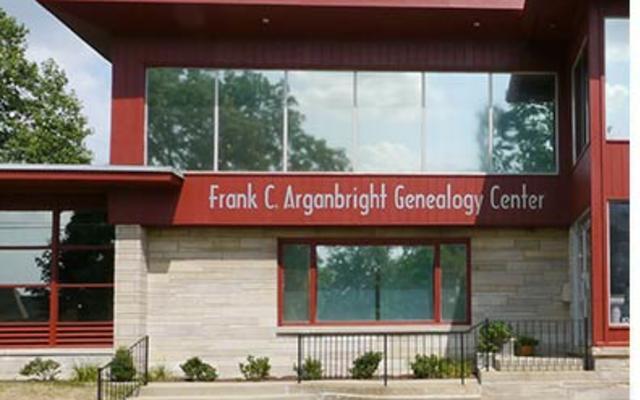 Arganbright Genealogy Center