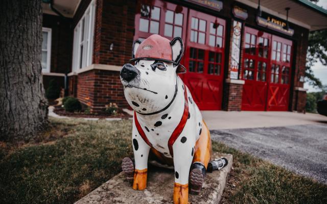 Sporky the Firehouse Hog