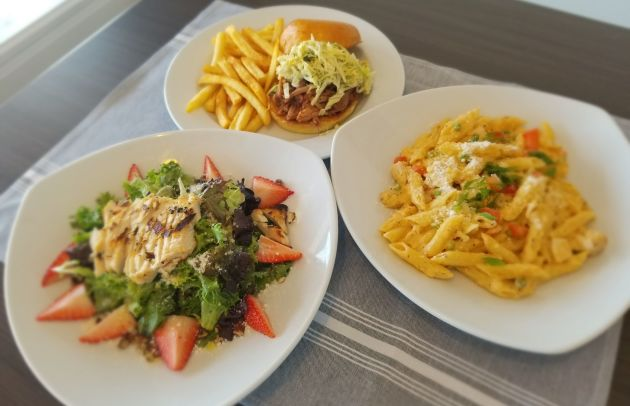 Three dishes