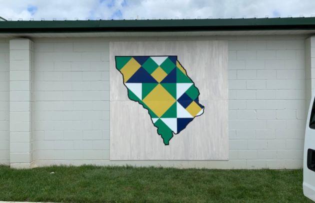 Ag Building Barn Quilt