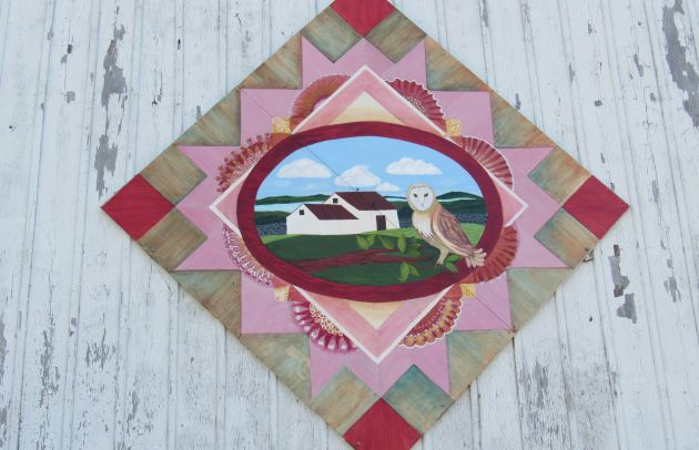 Barn Quilt at Steppingstone