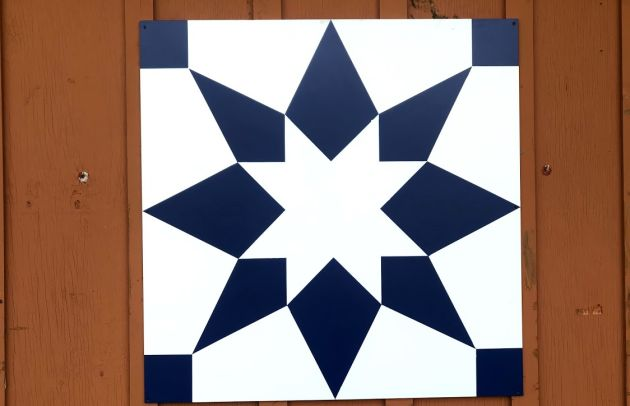 Daily Chaos Barn Quilt 1