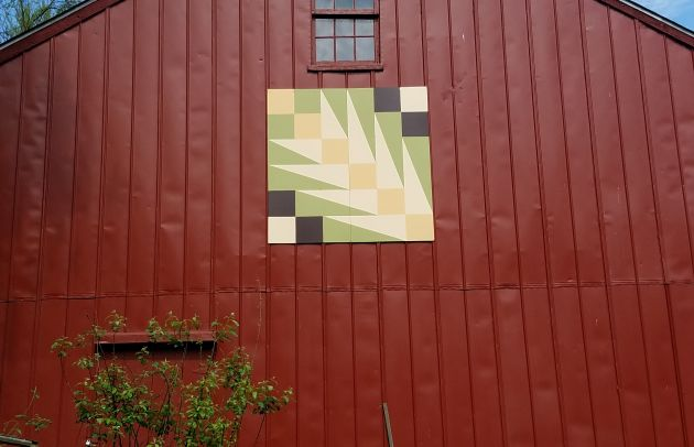 Eden Mill Quilt on Building