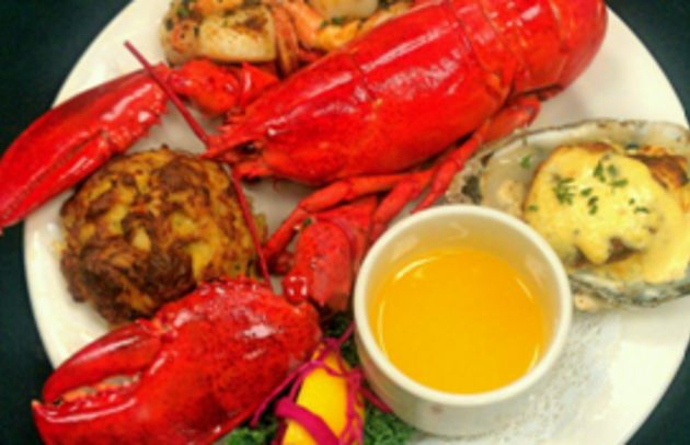 Lobster and Crabcake