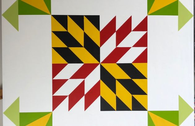 Quigley Farm Maryland Border Barn Quilt 2