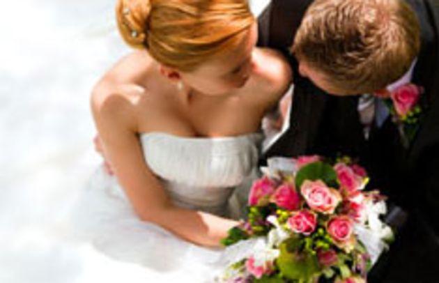 Bride & Groom Flowers