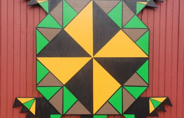 Susquehannock Wildlife Society Barn Quilt 1