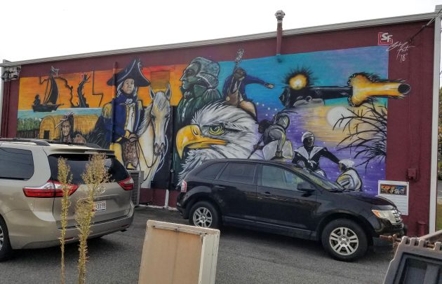 The People of Havre De Grace Mural
