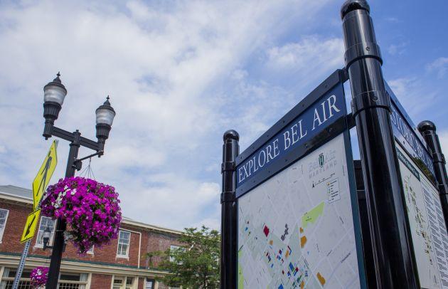 Town of Bel Air Sign